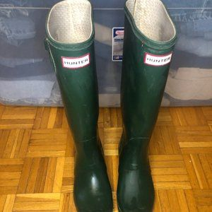 Army Green Hunter Boots